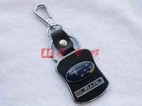 Free shipping 4 s shop customized gifts creative leather key chain * * subaru car key * key ring Christmas