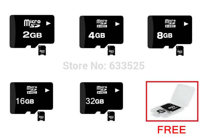 free shipping 4GB 8GB 16GB 32GB micro sd card TF Memory card +Free card reader class10(China (Mainland))