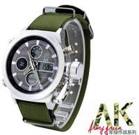 2014 Brand New Men Sports Watches Multifunctional Dive Watch Nylon strap Men Wristwatches