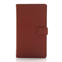 Lumia 925 Case,New Lychee Pattern Book Style Wallet Leather Case For Nokia Lumia 925 With Card Holder,Free Screen Protector