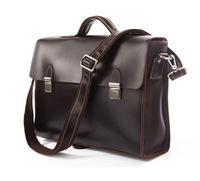 Vintage Genuine real leather Men buiness handbag laptop briefcase shoulder bag backpack / man messenger bag JMD7155C-385