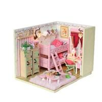 DIY dollhouse wooden house model