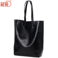 2014 fashion genuine leather one shoulder bag shopping bag female fashion women's handbag picture package