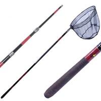 Fashion Fishing Folding Landing Net & Extending Pole spoon-net Handle Fishing Net