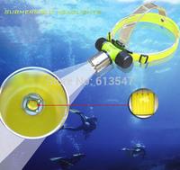 1800 Lumen XM-L XML T6 LED Underwater Waterproof 60m Diving Headlamp Swimming Headlight Dive Head Light Torch Lamp