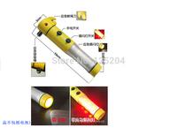 Wholesale 4 in 1 Car safety hammer Emergency Hammer with Car Glass Breaker + Seat Belt Cutter+Beacon+Flashlight