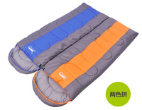 Good quality(210T not 190 or 170T polyester fabric) free ship Winter Outdoor Sleeping Bag camping adult sleeping bag 0-10 Degree