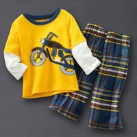 Children's leisure suit-Motorcycle
