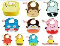 2013 Hot Sale Cotton Baby Bib Infant Saliva Towels Min.order is $10 (mix order) 9kind no-clean animal Burp Cloths U choose