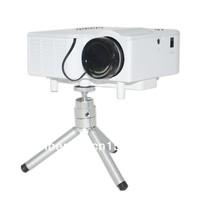 LCD Projector Cinema Theater, Support PC Laptop VGA +HDMI (Laptop, MHL Smart Phone)+ SD Card + USB (U Disk)+ AV (DVD) Input