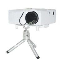LCD Projector Cinema Theater, Support PC Laptop VGA +HDMI (Laptop, MHL Smart Phone)+ SD Card + USB (U Disk)+ AV (DVD) Input
