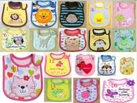 2013 Hot Sale Cotton Baby Bib Infant Saliva Towels Min.order is $10 (mix order) Free Shipping 18kind U choose