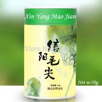 2014New Top Grade Green Tea Xinyang Maojian Spring Tea from Professional Tea Planter Direct 50g/1.76oz Paper can Gift Box