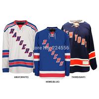 Customize New York Rangers jerseys hockey jerseys cheap china  Home/Away/Alternate Embroidery Logo Sew on Any Name & NO. YS-6XL