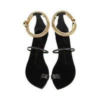 2014 new gz sandals snake women summer shoes r flat sandals free shipping