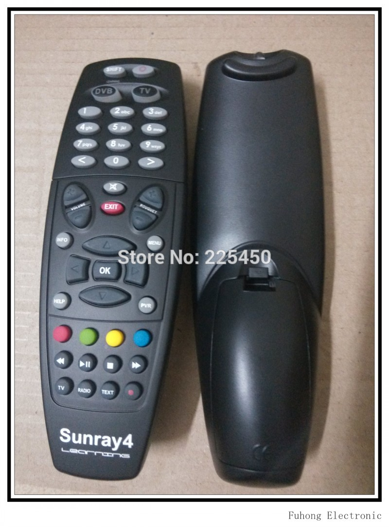 remote for sunray4 satellite with learning function from sunray4 remote manufacturer in sz best quality replace for sunray4 STB(China (Mainland))