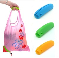 Easy for carry silicone handle bag holder silica rubber grip Vegetable soup helpful hand holder