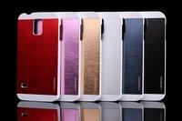 New Fashion PC+ Aluminum Metal hard back Cover Case for Samsung Galaxy S5 G900 I9600 Fashion Korean Motomo Protective Cases