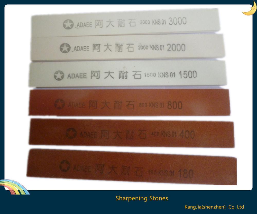 Инструмент для заточки ножей 180# 400# 800# 1500# 2000# 3000# Sharpening Stones  180 400 800 1500 oilstone edge sharpener 4 pcs