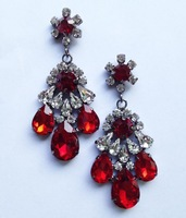 New 2014 Trend fashion earring shourouk crysta vintage statement shourouk Earrings for women jewelry Factory Price