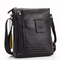 99 Time-hot sell leisure first layer genuine leather men messenger bag,theftproof man leather bag,brown leather shoulder bag