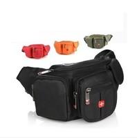 Men messenger bag waist bag canvas waterproof