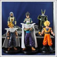 anime around children's toys wholesale 6 pcs set  Dragon Ball z action figure gift classic toys