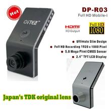 Original True  Ambarella 1920 * 1080P Car Camera 5MP Black Box Car DVR with A2S60 + OV2710 + Full HD 30FPS Car Camera