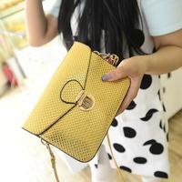 2014 summer new handbag wholesale Korean fashion candy color portable shoulder Messenger bag tide change packet