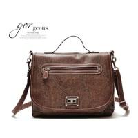 2014 vintage handbag shoulder  messenger   desigual bag bolsas leather bags