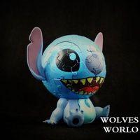 anime Lilo Stitch: The Series Stitch 60pcs 3d Jigsaw Children Intelligence toys