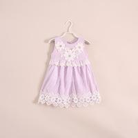 wholesale baby girls /kids dresses. two -color vest dress children's clothing . 5pcs/lot 21e050854 .