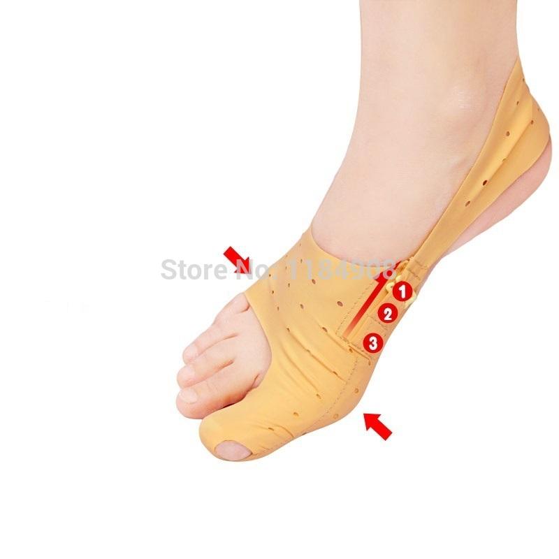2014 nuovo 1 PC calze pedicure style sanitari protezioni alluce valgo bretelle piede piedi sezione cura punta del calzino spedizione gratuita