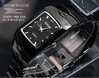 New Fashion Mens Watches Quartz Crystal Wrist Watch Steel Tungsten Wristwatch