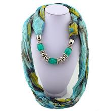 cheap pendant necklace scarf