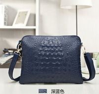 Women clutch messenger bags new 2014 crocodile pattern handbag small shoulder cross-body clutch evening bag women handbag