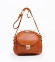 Women Mini Messenger Bags Genuine Leather Women Crossbody Handbag Genuine Leather Black Free Shipping B-232