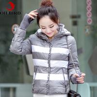 Oilbird 2014 winter  jacket women small design slim short down coat female jaquetas femininas winter coat women