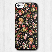 Grand Flowers Protective Cover Floral Case For iPhone 5c Free Shipping
