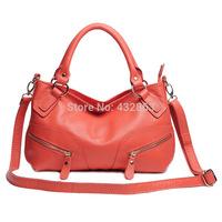 Women Cross Body Handbag Genuine Leather 2014 Women Real Cowhide Leather Handbags Designer Cross Body Shoulder Handbags B-238