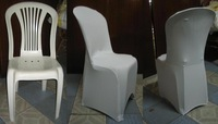 free shipping white plastic  spandex chair cover for weddings
