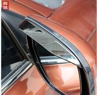 2013 2014 MITSUBISHI outlander Eyebrow Rearview mirror rain gear for Mitsubishi asx accessories