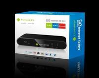 Smart TV box DVB-T2 TV100-T2 Android 4.2 AML8726-MX 1GB/4GB HDMI WIFI  bluetooth 3G AV out  Set TV Box