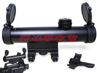 SNIPER 4X20 Installed M4 M16 AR15 carry handle riflescope and Installed 20mm Weaver Rail riflescope- Free Shipping