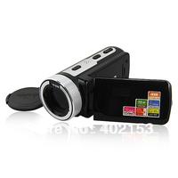 "HD-55E 16X Zoom 2.7""TFT LCD HD 720P 16Mp Digital Video Camera Recorder DV Black Wholesale,Free Shipping #210026"