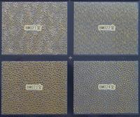 6pcs/lot larger size 2014 New arrival 3D metal gold nail sticker nail polish stickers 4 in1 BM001-BM024(gold)