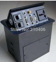 FREE SHIPPING ZSH9M-01 popup desktop Socket/ hdmi jack/new