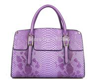 2014 Korean Belt Designer Sepentine Bag Cowhide Genuine Leather Women Handbag Tote Bag Luxury Women Shoulder Bag Big