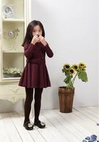 Free shipping 2014 autumn girl wool jacket  girls jacket wholesales