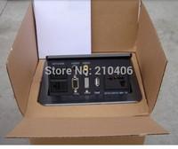 US power desktop Socket,include HDMI,VGA,USB,LAN,AUDIO,VIDEO,HIDDEN connection panel